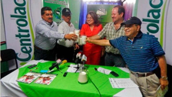 Presentación ¡Sí a la leche! y campaña del vaso de leche escolar en Nicaragua