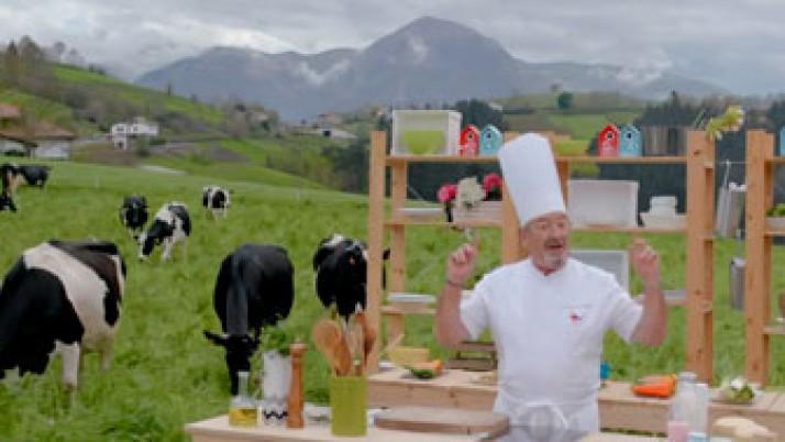 Leche y lácteos de Euskadi. Fundamentales para tu salud y la de nuestro entorno