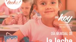 28 de septiembre de 2016: día mundial de la leche escolar