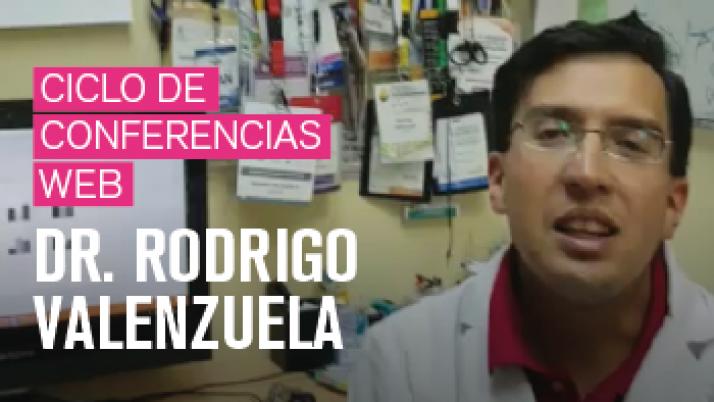 Ciclo de conferencias web <br>Dr. Rodrigo Valenzuela