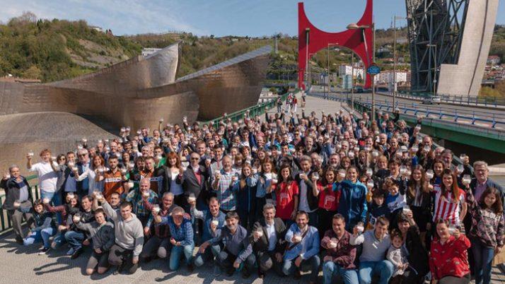 España: Gran éxito de la jornada de fomento del consumo de leche del sector lácteo vasco en Bilbao