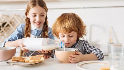 Niños chilenos y consumo de lácteos: Dos de cada cinco no toma la dosis diaria recomendada