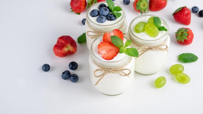 Yogur, rico al paladar, mejor aún para la salud