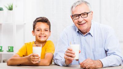 Envejece de forma más saludable consumiendo productos lácteos