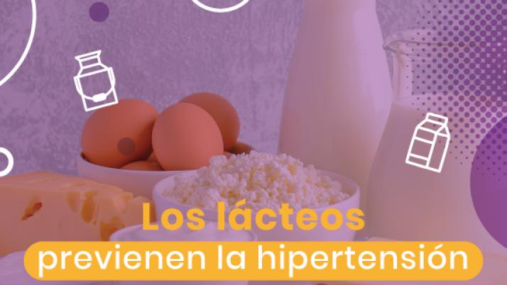 Los lácteos previenen la hipertensión arterial