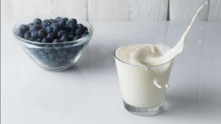 La leche, entera incluso a dieta