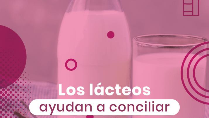 Los lácteos ayudan a conciliar el sueño