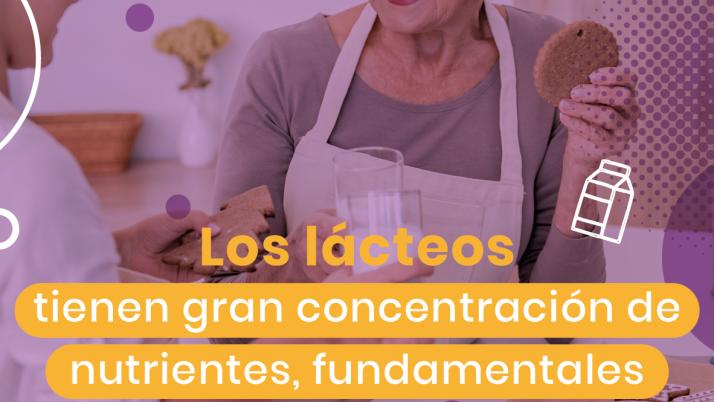 Tienen gran concentración de nutrientes, fundamentales para el adulto mayor.